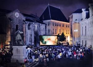 Le festival de court métrage en plein air de Grenoble