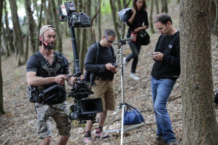 équipe de tournage film court métrage