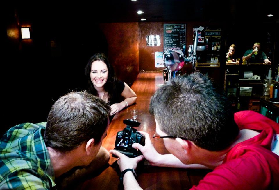 Tournage d'un court métrage avec un reflex numérique