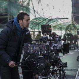 Rupert Sanders sur un tournage