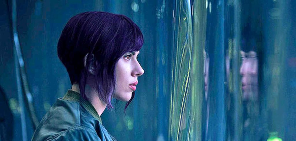 Scarlett dans Ghost in the shell