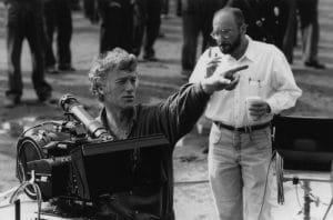 Roger Deakins sur un tournage