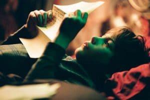 enfant dans un film