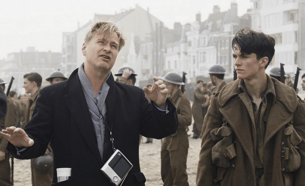 Sur le tournage de Dunkerque