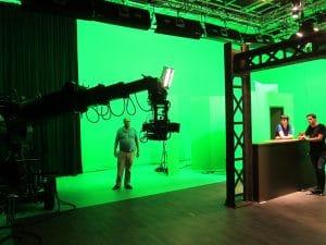 studio de cinéma fond vert